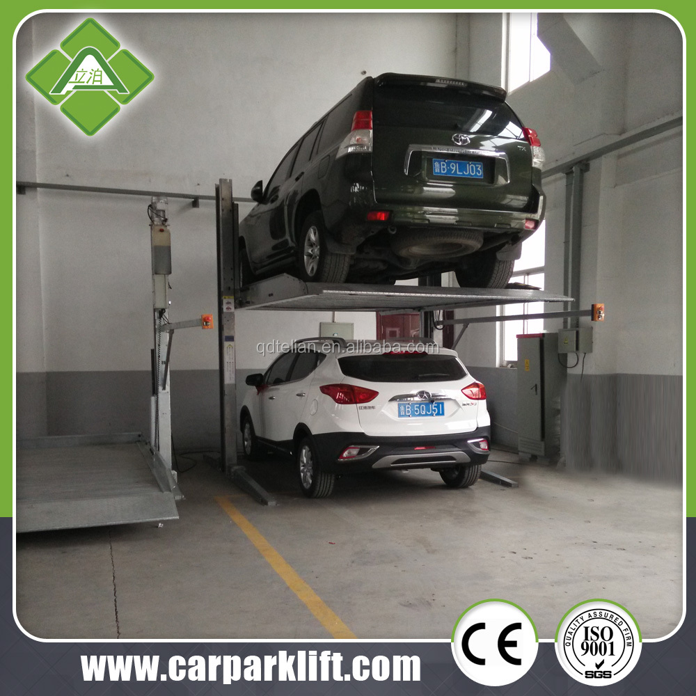 Two Post Floor Plate Used Car Lift For Home Garage Buy