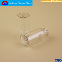 15ml clear glass injection vial penicillin bottle