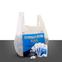 3A quality printed charity bag