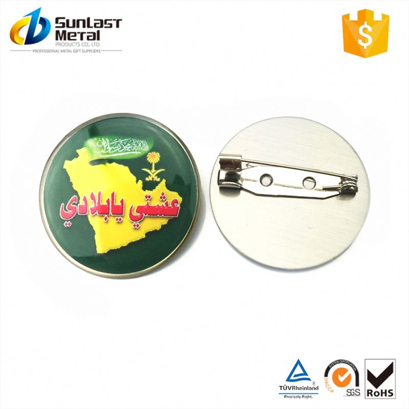 Best seller custom design noble pin badges for wholesale