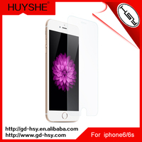 HUYSHE 9H 0.3MM used mobile phone screen protector for iphone 6 high clear tempered screen protector