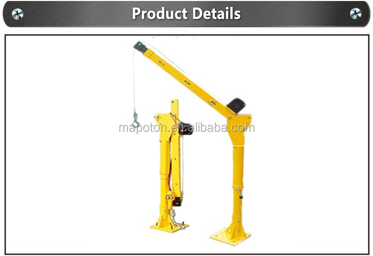 Car Or Truck Mounted Construction Mini Crane