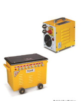 YELLOW AND BLACK WELDING MACHINE
