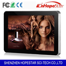 HD lcd touchscreen monitor with built in computer TV display android smart media player with metal case
