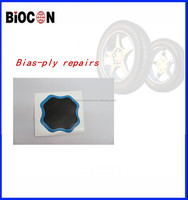 High quality Euro-Style tyre repair patch /tire repair Bias-ply Repairs