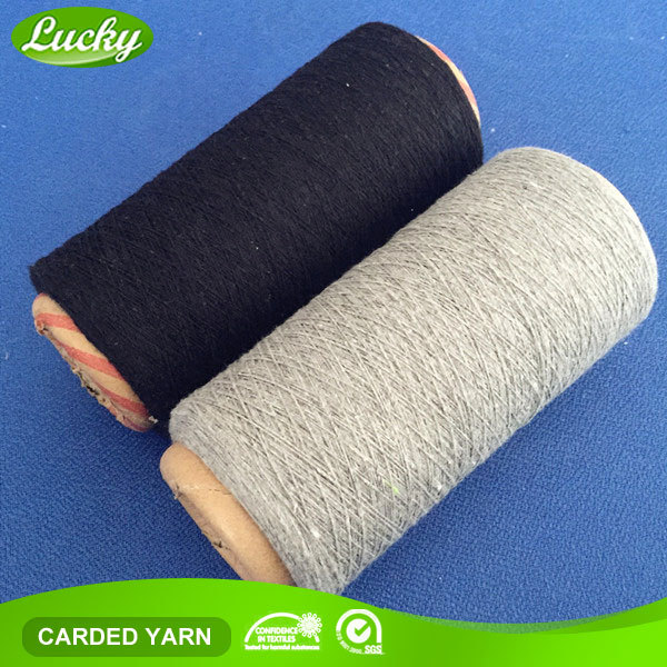 Leading yarn supplier cheapest cotton textile yarn of wholesale undyed yarn