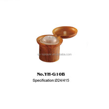Shampoo dispenser flip plastic top bottle cap,plastic cap wood flip cap