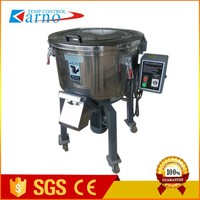 25KG/H automatic masterbatch color volumetric screw doser mixing machine