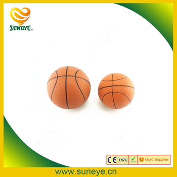 custom pu foam basketball stress balls