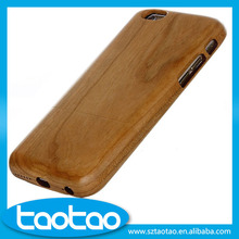 Wholesale handmade wood cell phone case for iphone 6, wholesale wooden mobile phone case for iphone 6 6s