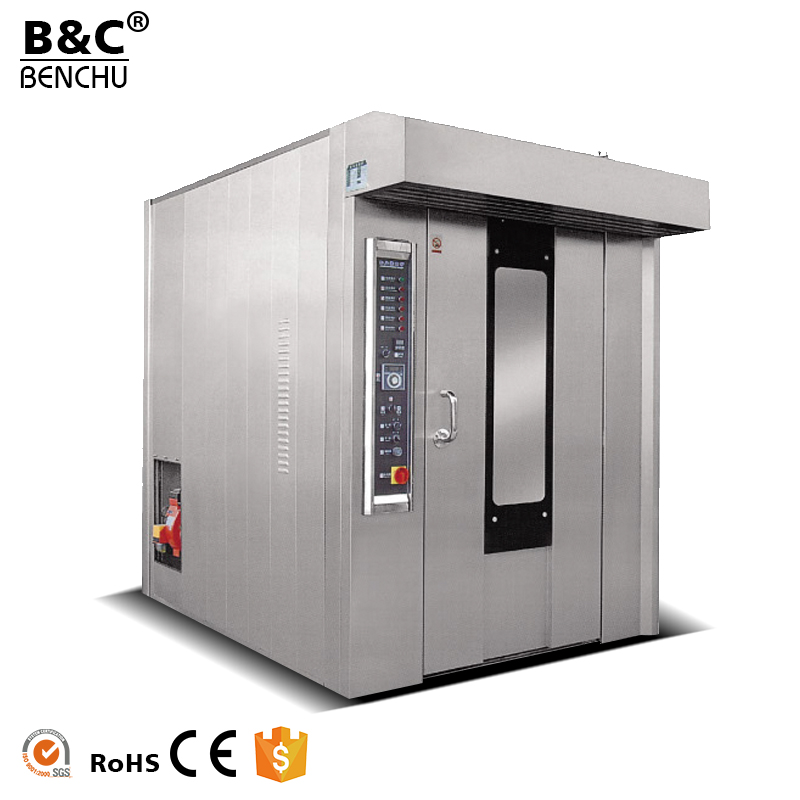 Commerical Bread Roaster Baking Oven, Hot Air Rotary Oven