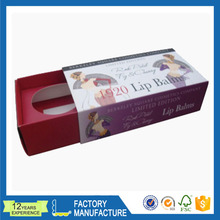 2016 Alibaba Supplier Lip Balm Display Packaging Box Made In China