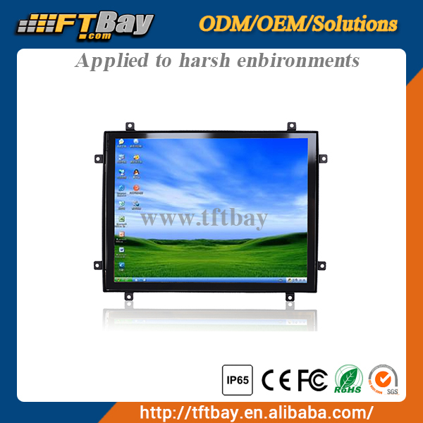 10.4'' industrial monitor open frame monitor touch screen
