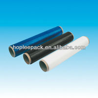 Clear, black, blue and colored LLDPE stretch film