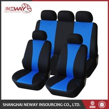 Top quality universal dyed sheep wool car seat cover price