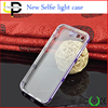New Calls Flash Light phone case 2 in 1 silicone case wholesale for iphone