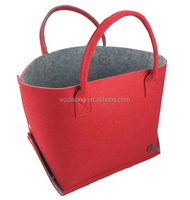 Felt Travel Carry Bag Shoulder Handbag Shopping Work Bag Tote Bag