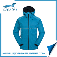 Breathable cheap waterproof spandex polyester winter softshell man jacket