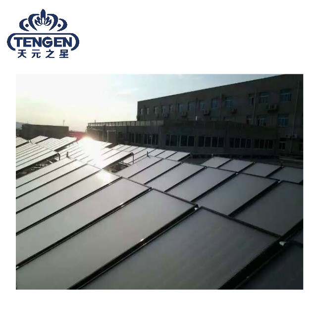 Rooftop flat plate panel solar water heater solar collector prices in Arabic
