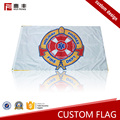 Wholesale soccer Embroidered custom flag printing