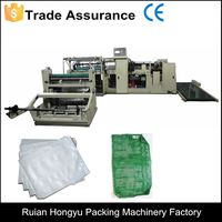 Automatic cotton mesh bag making machine
