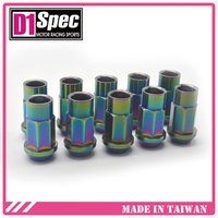 D1 Spec racing nuts for all car models Heptagon super nut from Titanium Lug Nuts