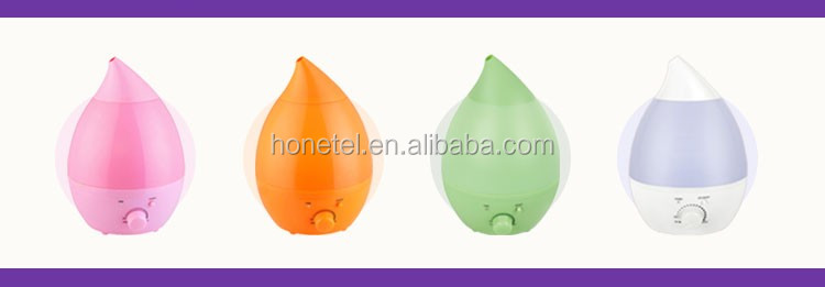 2018 NEW HTJ-2001D 1.3L LED Duck Shape Top Aroma Available Ultrasonic Cool Mist Mini Humidifier