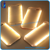 Directly supply factory Amazing Illuminated selfie light book case for cell phone with top 1 qualityfrom factory