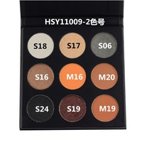 2019 Best selling 9 color makeup palette private label high pigment eyeshadow palette