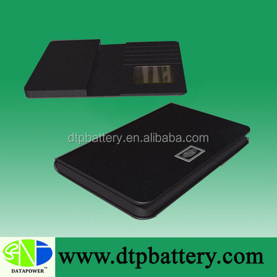 2014 power bank wallet, Built-In usb cables wallet power bank
