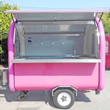 zhicheng 2018 cheap kitchen trailer outdoor street cart