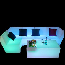 Led Bar Night Club <strong>Furniture</strong> led sofa Outdoor sofa led led <strong>furniture</strong> sofa rechargeable with remote controller