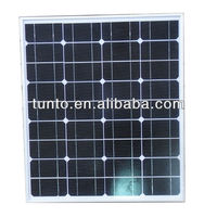 Monocrystalline PV Solar Panel Supplier in Guangzhou,Solar Panel 50W 18V