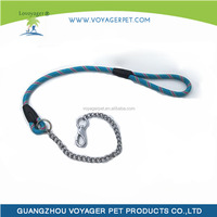 Lovoyager 2015 Outdoor Blue Strong Chain Collars Dogs with High Quality