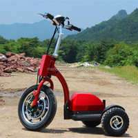 zappy three wheel folding electric tricycle for handicapped
