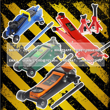 LHH-001 mechanical horizontal hydraulic crocodile trolley garage floor jack