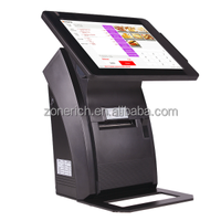 Touch screen android pos terminal with thermal printer ZQ-A1088mini