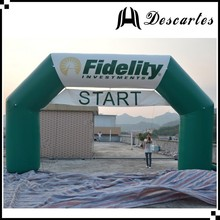 2016 promotional advertising archway, inflatable square arch for race