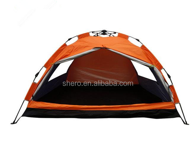 wholesale 3 person manual waterproof family tent outdoor camping