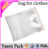 Yasonpack clothing packaging shipping plastic bags for clothing clothing plastic bag