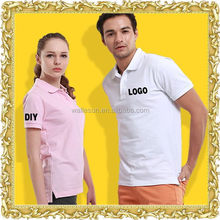 Leisure wear men polo t shirt unisex golf shirt custom polo shirt