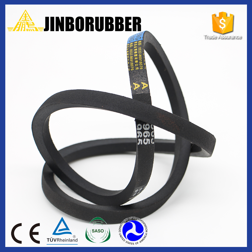 Good stock lot of v belt For Rubber Production
