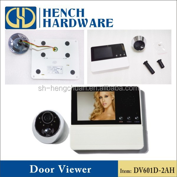 Home security 120 degree wideangle peephole door camera