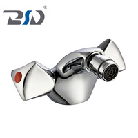 Classic style cheap price dual handle brass new bidet faucet Chinese OEM/ODM chrome bidet faucets mixer
