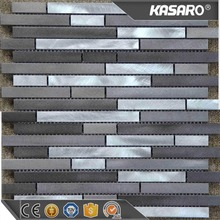 13613 stainless steel strip tiles, stainless steel mosaic tile, stainless steel tile