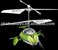 radio controlled electric helicopters R/C 3CH UFO With Gyro