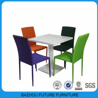 cheap simple square small dining room set