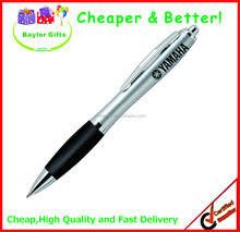 2015 hotsales Cheap price logo printed custom promotional plastic pen