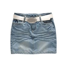 2013 women beautiful stock denim skirt (DS120015)