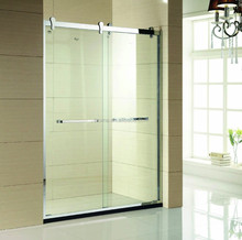 fashion design simple tempered glass shower room Y109